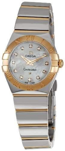 Omega Constellation Polished Quartz 12320246055003