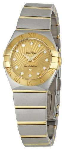 Omega Constellation Brushed Quartz 12320246058001