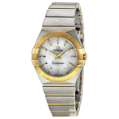 Omega Constellation Brushed Quartz 12320276005002