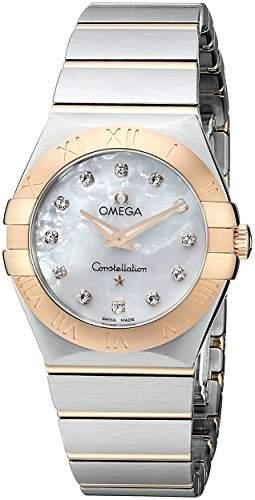 Omega Constellation Brushed Quartz 12320276055001