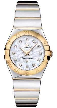 Omega Constellation Polished Quartz 12320276055004