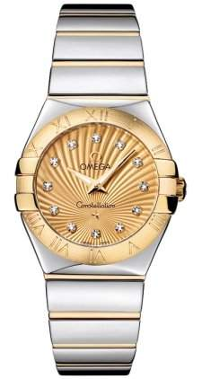 Omega Constellation Polished Quartz 12320276058002