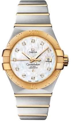 Omega Constellation Brushed Chronometer 12320312055002
