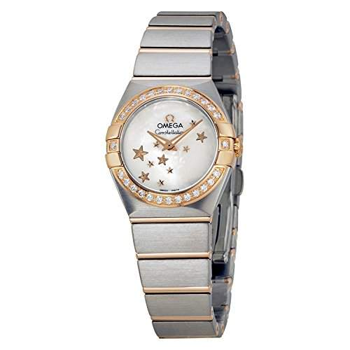 Omega Constellation Brushed Quartz 12325246005002