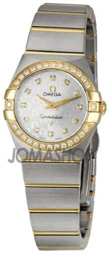 Omega Constellation Brushed Quartz 12325246052002