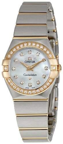 Omega Constellation Brushed Quartz 12325246055001