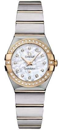 Omega Constellation Brushed Quartz 12325246055003