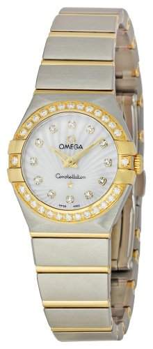 Omega Constellation Brushed Quartz 12325246055004