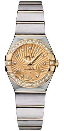 Omega Constellation Brushed Quartz 12325246058001