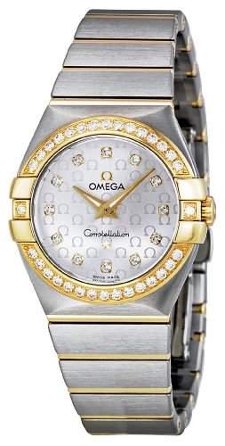 Omega Constellation Brushed Quartz 12325276052002