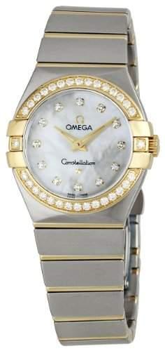 Omega Constellation Brushed Quartz 12325276055003