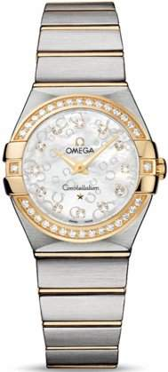 Omega Constellation Brushed Quartz 12325276055010