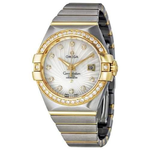 Omega Constellation Brushed Chronometer 12325312055002