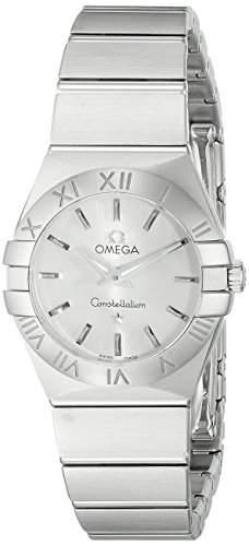 Omega Constellation Brushed Quartz 12310246002001