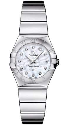Omega Constellation Polished Quartz 12310246055002