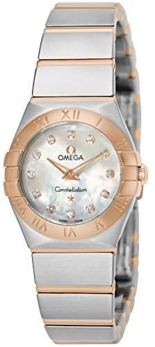 Omega Constellation Brushed Quartz 12320246055001