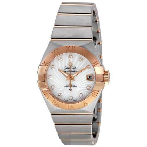 Omega Constellation Brushed Chronometer 12320272055001