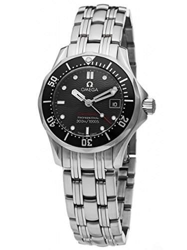 Omega Damen-Armbanduhr Analog Quarz Edelstahl 21230286101001