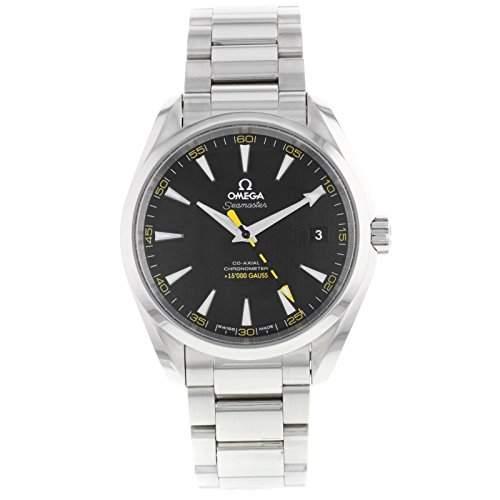 OMEGA Herren-Armbanduhr 42mm Armband Edelstahl Gehäuse + Schweizer Automatik Analog 23110422101002