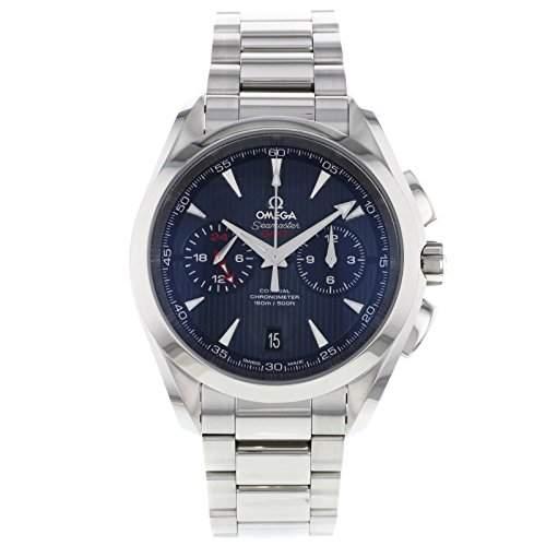 Omega Aqua Terra Co-Axiale GMT Chronograph 23110435203001 Mens Watch