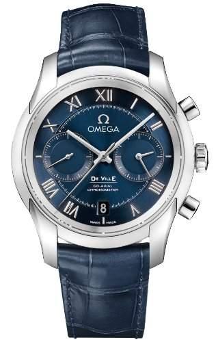 Omega De Ville Co-Axial Chronograph 43113425103001