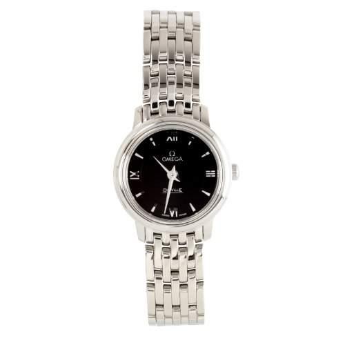 Omega Damen-Armbanduhr XS De Ville Analog Quarz Edelstahl 42410246001001