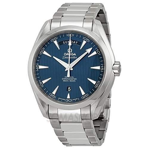 Omega Omega Aqua Terra Blau Zifferblatt Edelstahl Stahl Mens Watch 23110422203001