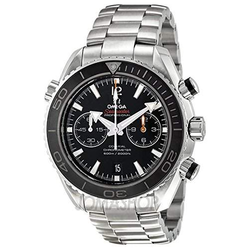 Omega Omega Seamaster Planet Ocean Schwarz Zifferblatt Edelstahl Stahl Mens Watch 232304651