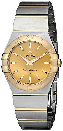 Omega Constellation Brushed Quartz 123 20 27 60 08 001