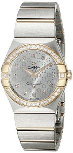 Omega Constellation Brushed Quartz 123 25 27 60 52 001