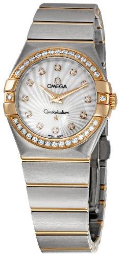 Omega Constellation Brushed Quartz 123 25 27 60 55 002