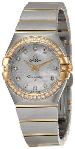 Omega Constellation Brushed Quartz 123 25 27 60 55 009