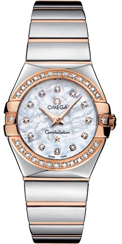 Omega Constellation Polished Quartz 123 25 27 60 55 005