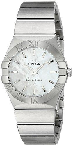 Omega Damen Armbanduhr Analog Quarz Edelstahl 12310276005001