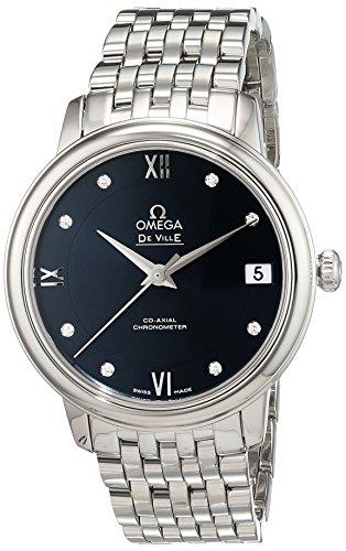 Omega Damen Armbanduhr Analog Automatik Edelstahl 42410332053001