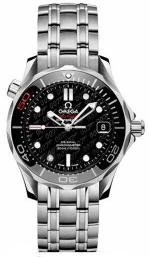 Omega Unisex Armbanduhr Seamaster James Bond 007 212 30 36 20 51 001
