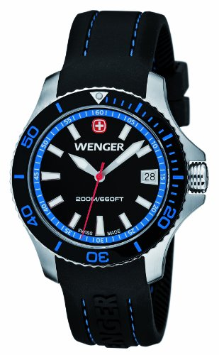 Wenger Seaforce Analog Quarz Silikon 01 0621 102