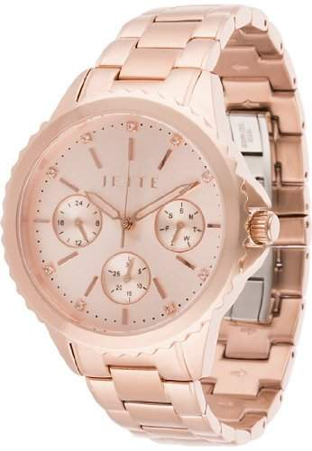 JETTE Time Damen-Armbanduhr Prime time Analog Quarz One Size, roségold, roségold