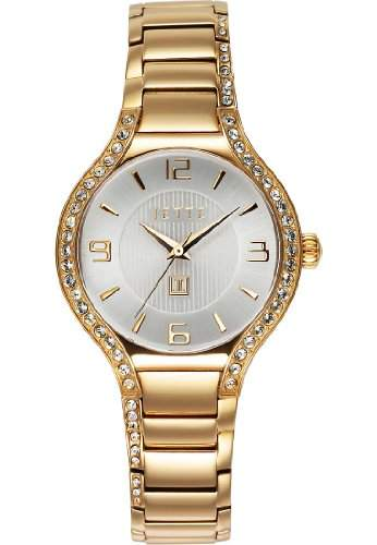 JETTE Time Damen-Armbanduhr Snail Analog Quarz One Size, silberfarben, gold