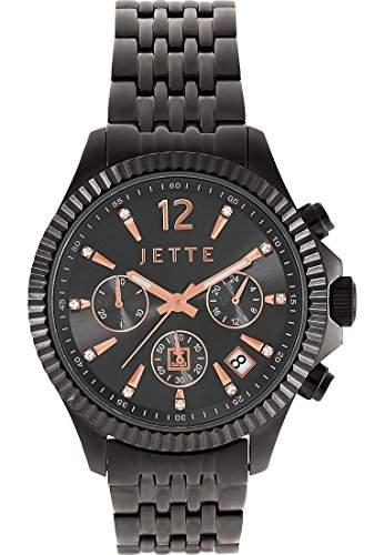 JETTE Time Damen-Armbanduhr Analog Quarz One Size, grau, grauanthrazit