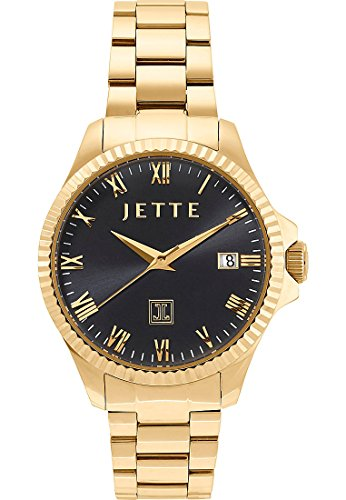 JETTE Time Time Analog Quarz One Size schwarz gold