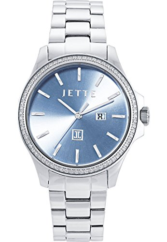 JETTE Time Dreamlike Analog Quarz One Size blau silber