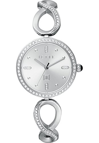 JETTE Time Endless Love Analog Quarz One Size silberfarben silber
