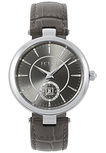 JETTE Time Damen Armbanduhr Time Analog Quarz One Size grau grau