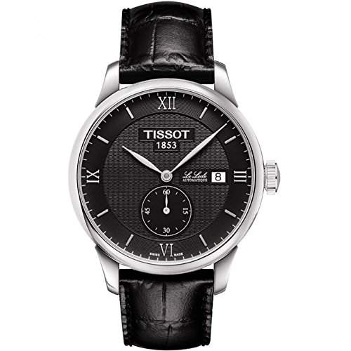 Tissot Herren-Armbanduhr Analog Automatik Leder T0064281605801