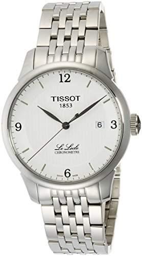Tissot Herren-Armbanduhr XL Le Locle Analog Automatik Edelstahl T0064081103700
