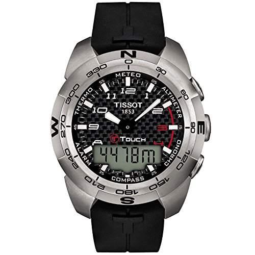 Tissot Herren-Armbanduhr Analog - Digital Quarz Kautschuk T0134204720200