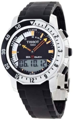 Tissot Herren-Armbanduhr XL Sea-Touch Analog - Digital Quarz Kautschuk T0264201728100