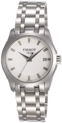 Damen-Armbanduhr XS Analog Quarz Edelstahl T0352101101600
