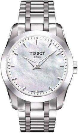 Damen-Armbanduhr XS Analog Quarz Edelstahl T0352461111100